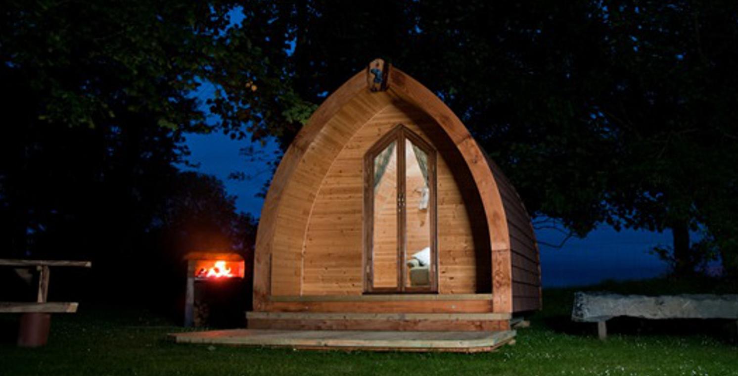 Camping Pod Photos