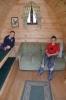 Inside Camping Pod Ceri