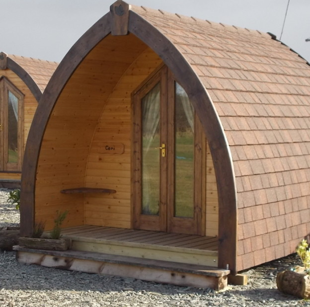 Four Bed Camping Pod